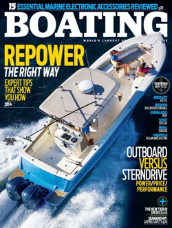 Boating Magazine Cover